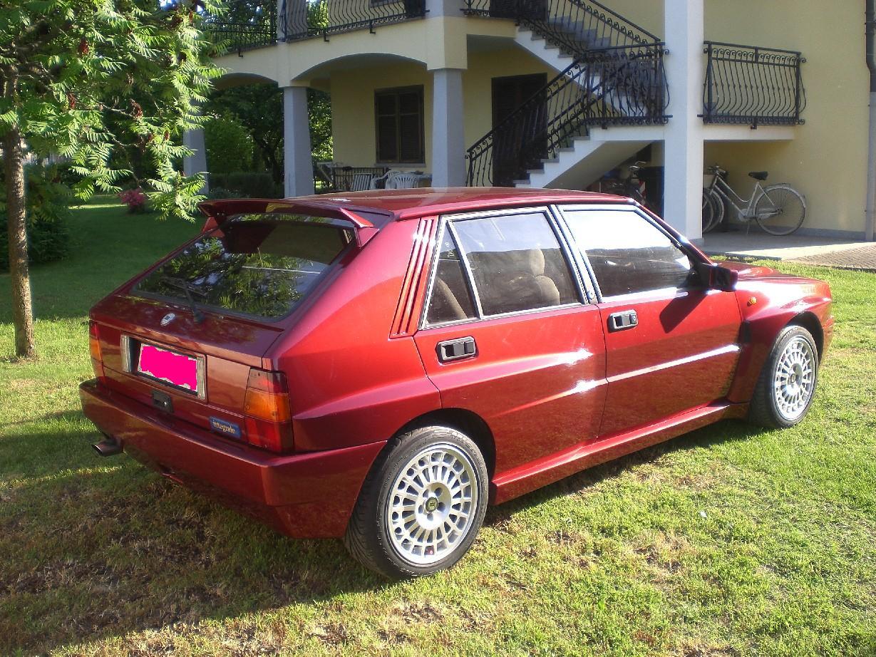 Lancia Delta evo 1 red winner SOLD Italia