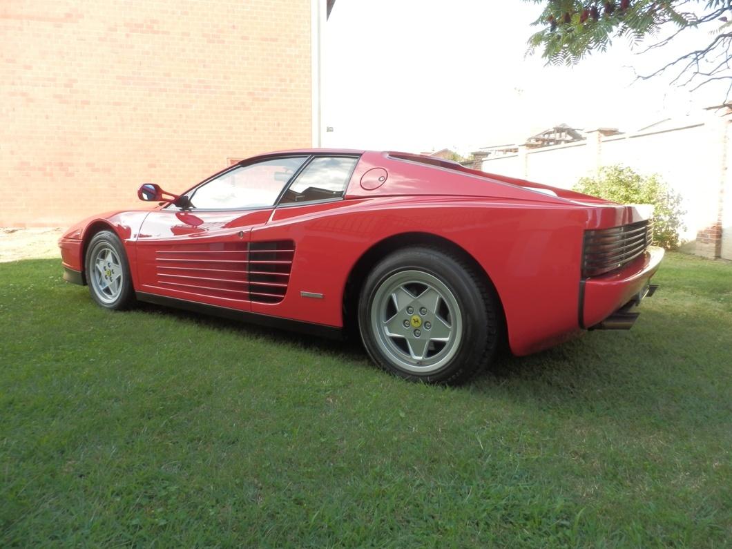 Ferrari Testarossa 1990 SOLD Italia