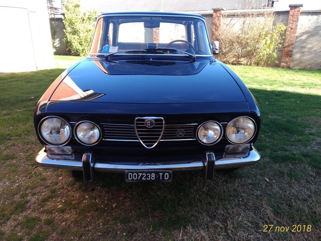 Alfa Romeo 1750 seconda serie SOLD Italia
