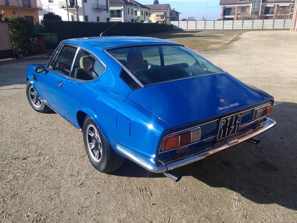 Fiat Dino 2400 coupè Sold Czech Republic