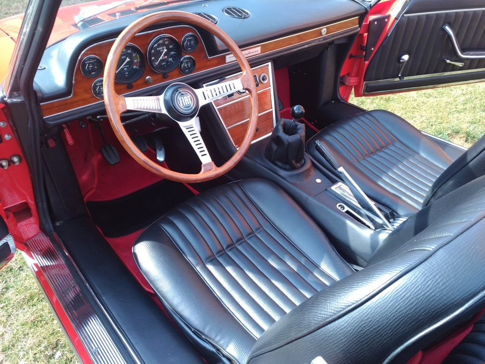 Fiat Dino spider 2000 top conditions SOLD Germany