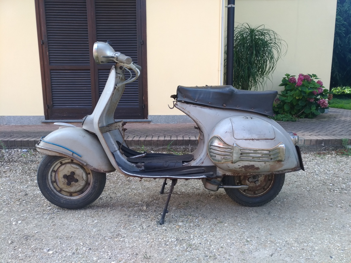 Rarissima Vespa GS vs1 prima serie conservata SOLD Italia