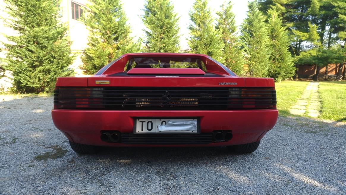 Ferrari Testarossa 1991 Sold Venduta Italia